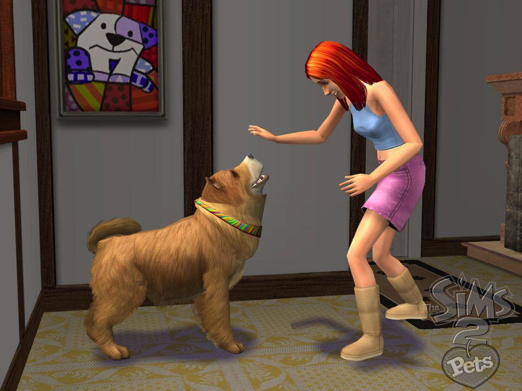 Дополнения К Sims 2 Pets