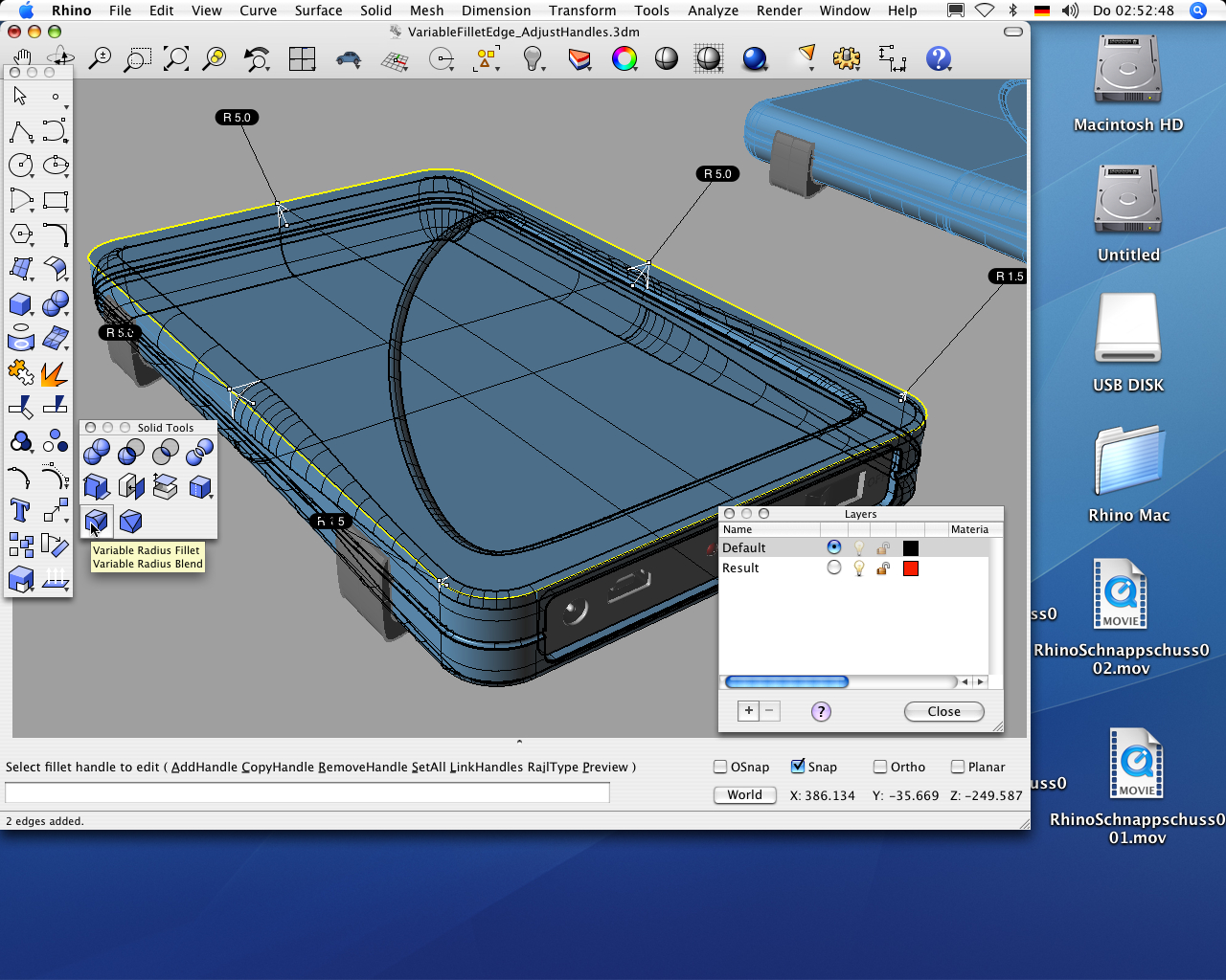cadsoftware rhinoceros nun unter mac os x mac life