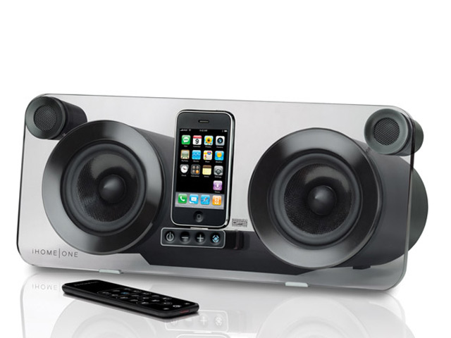 ip1 stereo lautsprecher f r ipod und iphone mac life. Black Bedroom Furniture Sets. Home Design Ideas