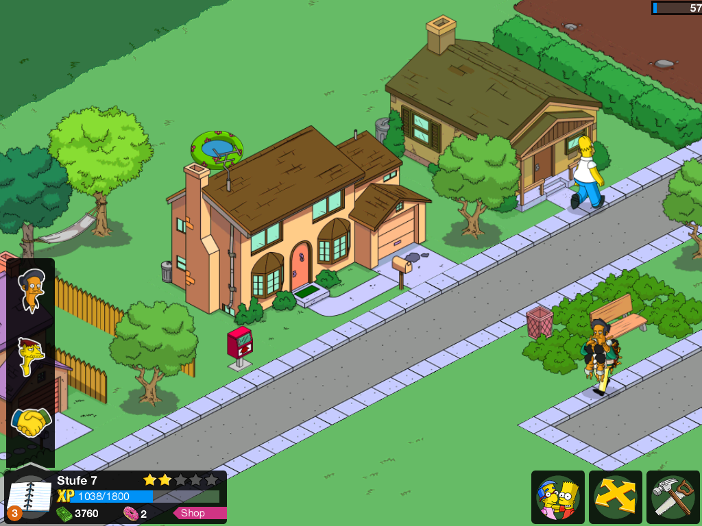 Simpsons Tapped Out For Windows 8  Apps Directories