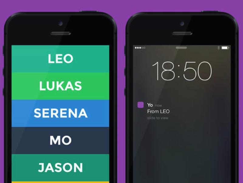 Bild zu «Yo-Messaging-App: Social-Media-Hit mit Sicherheitslücke»
