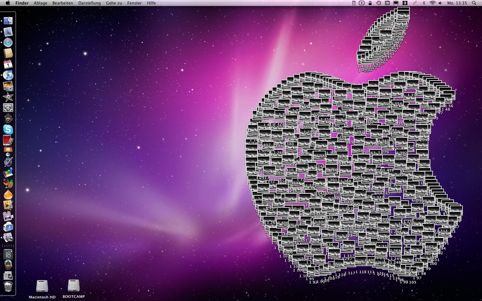 how to completely delete desktop icons mac