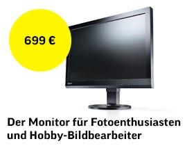 Der Monitor für Fotoenthusiasten und Hobby-Bildbearbeiter