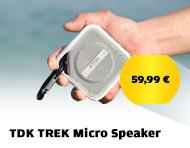 TDK TREK Micro Speaker