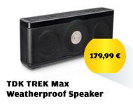 TDK TREK Max Weatherproof Speaker