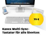 Kanex Multi-Sync- Tastatur für alle iDevices