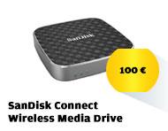 Müssen Sie für iOS 8 Platz machen? Gönnen Sie sich 64 GB extra mit dem  SanDisk Connect Wireless Media Drive