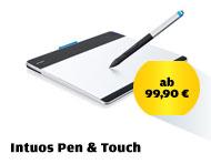 Intuos Pen & Touch: lässt der Kreativität freien Lauf