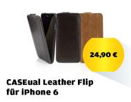 CASEual Leather Flip für iPhone 6