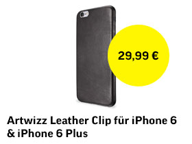 Artwizz Leather Clip für iPhone 6 & iPhone 6 Plus