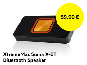 XtremeMac Soma X-BT Bluetooth Speaker