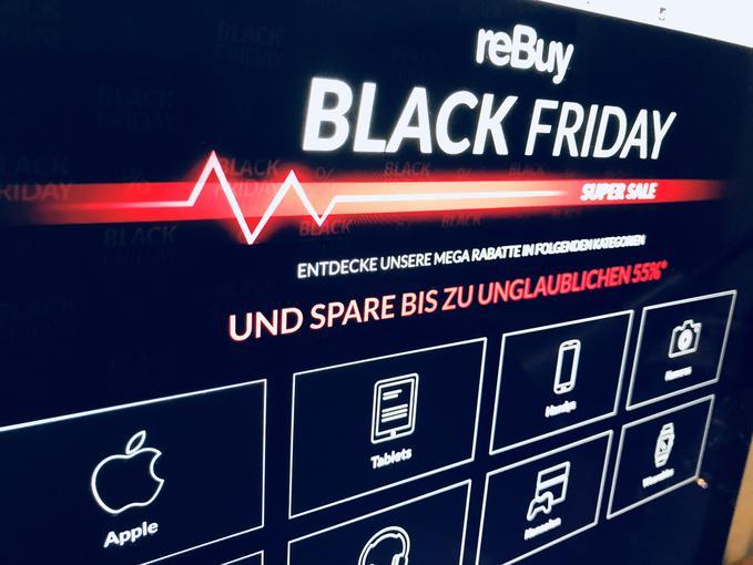 Der Gebrauchtmarkt macht mit Klar gibt es am Black Friday Rabatte Doch nicht nur Neuware gibt es günstiger Sie suchen ein iPhone oder iPad für Oma