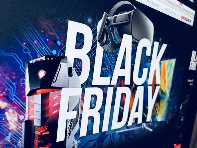 Alternate macht auch mit beim Black Friday Bis zu 25 Prozent Preisunterschied gibt es auf ein ausgewähltes Sortiment Einige der Produkte sind in der