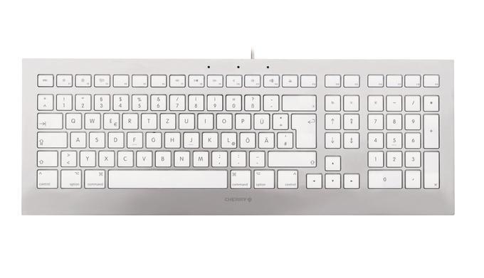 Cherry Strait 3.0  - die edle Metalltastatur für den Mac