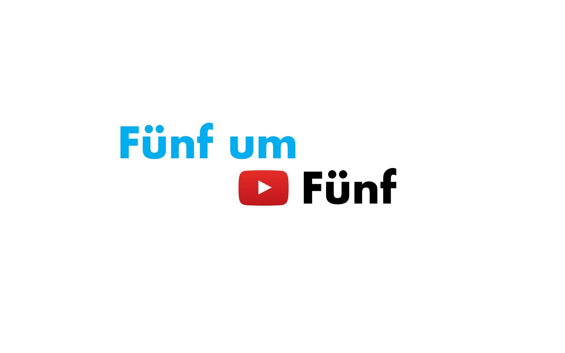 Fünf um Fünf: Der neue wöchentliche News-Überblick auf YouTube