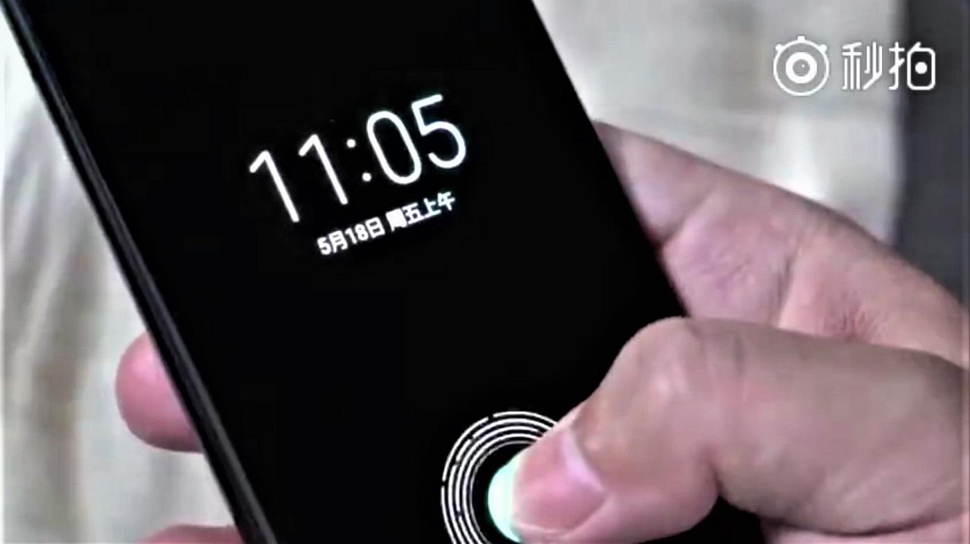 Fingerabdrucksensor bald im Display – bei Apples Konkurrenz…