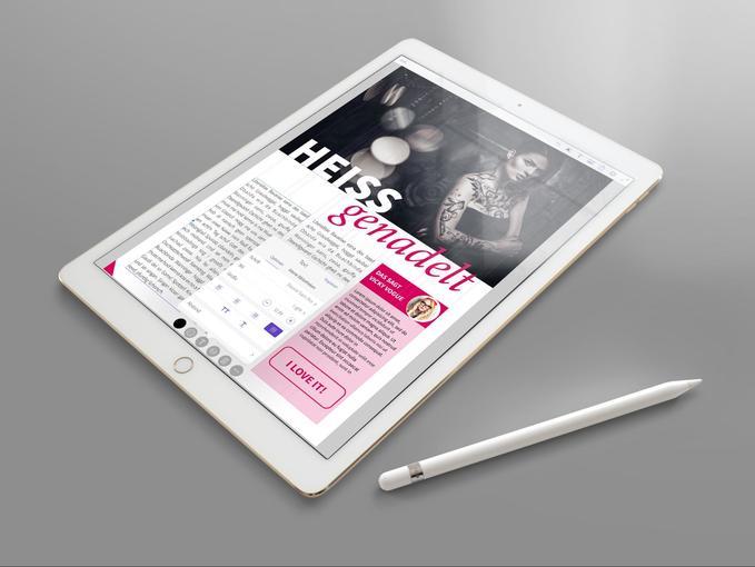 Unterwegs kreativ: Layouts am iPad gestalten – so geht´s