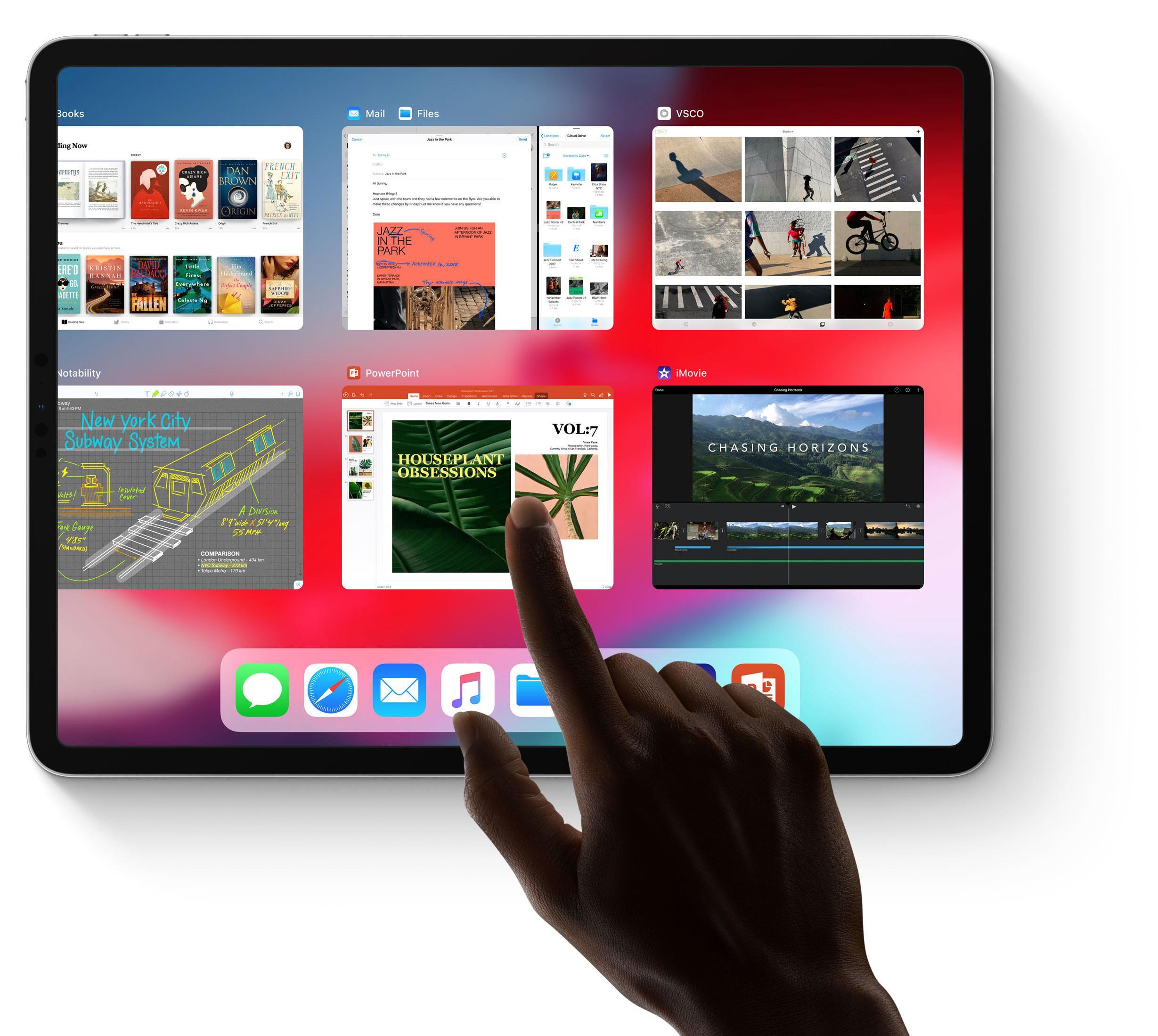 Multitasking mit iPadOS - so geht's