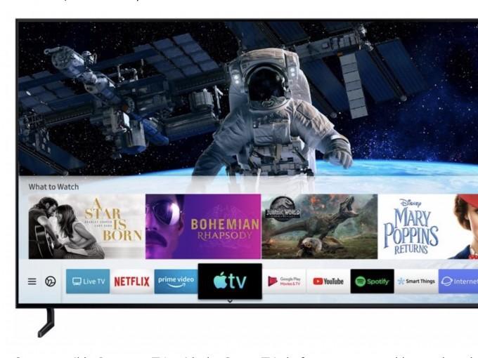 AirPlay 2 und TV-App nun auf Samsung Smart TVs verfügbar