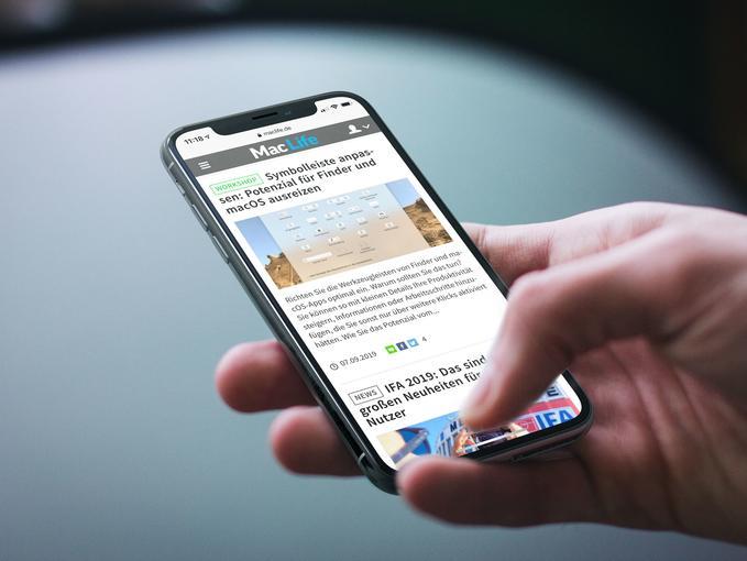 iOS 13: So speichern Sie Webseiten als PDF in Safari