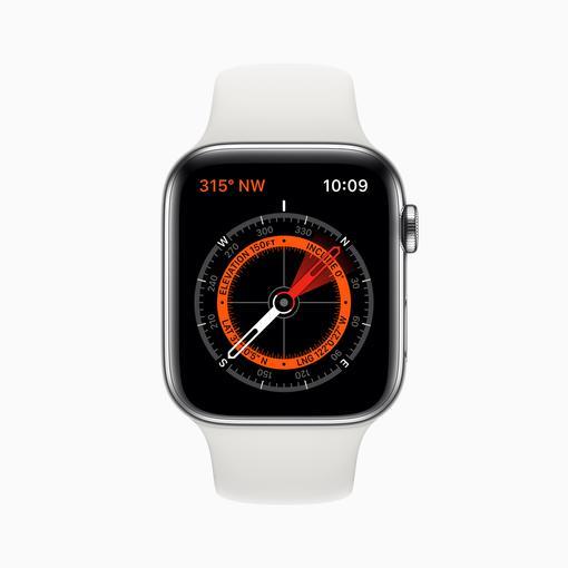 Apple Watch Series 5: Einige Armbänder stören Kompass
