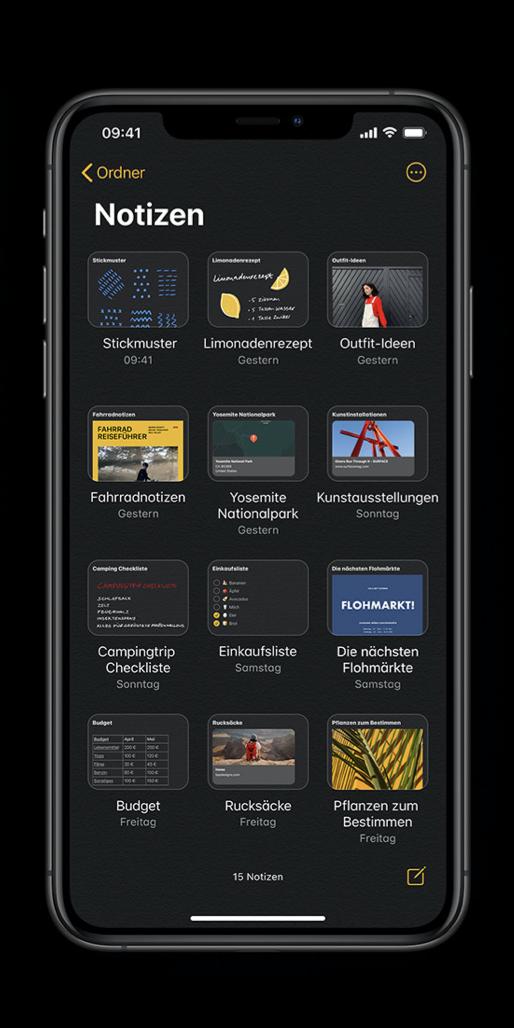 Mit diesen beiden Tipps erhalten Sie mehr Übersicht in der Notizen-App am iPhone & iPad