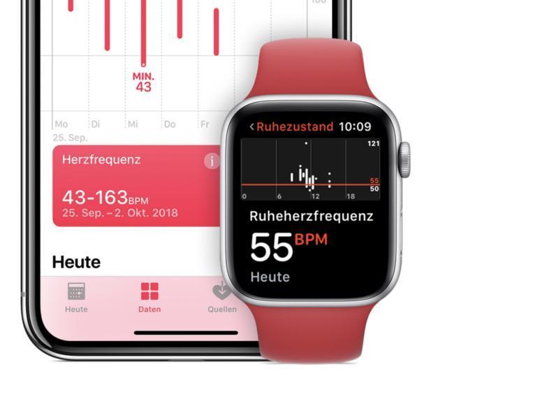Apple Watch kann COVID-19 erkennen