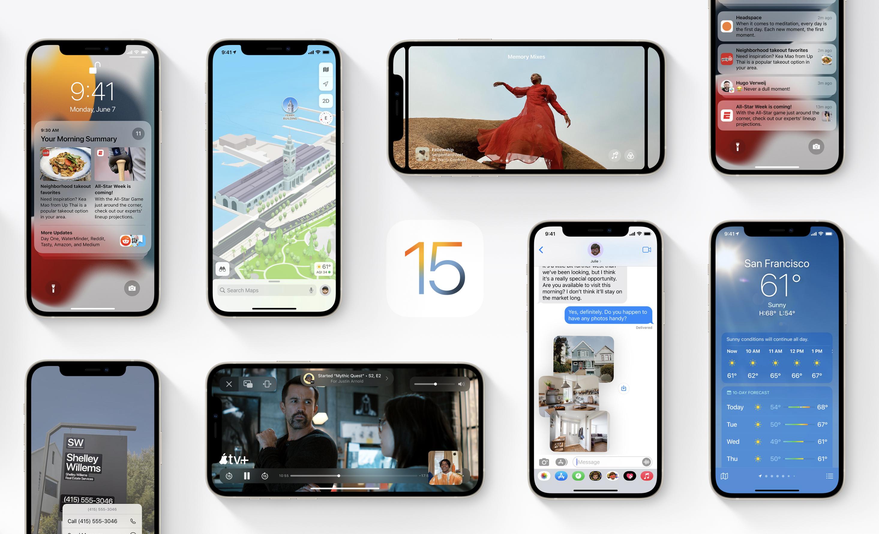 iOS 15: Diese Funktionen sind nicht für das iPhone X und älter verfügbar