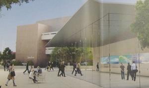 Glaskasten: Neuer Apple Store in Stanford mit extravagantem Eingangsbereich