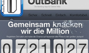 OutBank und iOutBank: stoeger IT feiert den Weg zu ersten Million Downloads mit Gewinnspiel