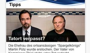 Tatort-Livestream und mehr: Offizielle ARD-App erschienen