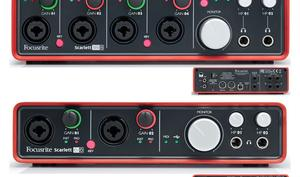 Focusrite Scarlett 6i6 und 18i8 - USB-Audio-Interfaces