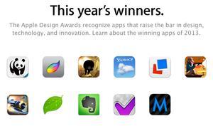 Apple kündigt Gewinner des Design Awards 2013 an