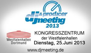 DJ-Meeting am 25. Juni in Dortmund