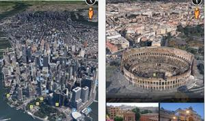 Google Earth App nun mit Street View
