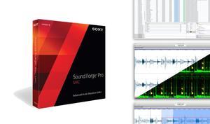 Sound Forge Pro 2 - Audio Editor für Mac