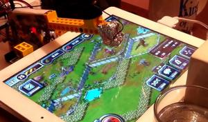 Netzfundstück: Lego-Roboter spielt Freemium-Titel auf dem iPad
