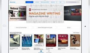 Lernen via Tablet: So wird Apple iTunes U für das iPad verbessern