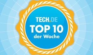 Die TECH.DE-Hitparade: Die 10 wichtigsten Artikel der Woche