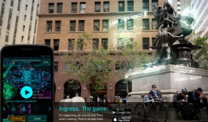 Googles Alternate-Reality-Spiel Ingress erobert iPhone und iPad
