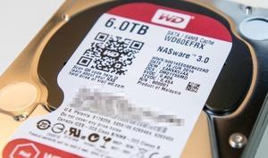 Kurztest: WD Red 6 TB (WD60EFRX)
