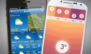 Die besten Wetter-Apps: Nie wieder falsche Kleidung
