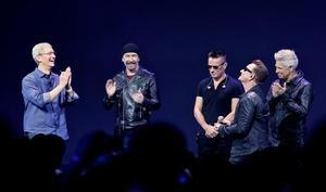 Apple und U2 arbeiten an einem geheimen Musik-Projekt
