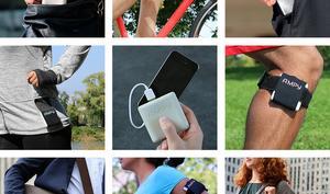 Ampy lädt iPhones beim Sport auf