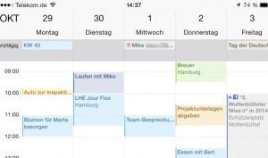 Termine leicht gemacht: Die Kalender-App auf dem iPhone für Einsteiger