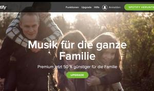 Spotify Familientarif kommt heute: 50-Prozent Rabatt auf Musik-Streaming-Dienst - Angriff auf Apples Beats Music