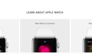 Apple Watch: Apple erweitert die Produkt-Webseite um drei weitere Inforubriken - Endspurt wird eingeläutet