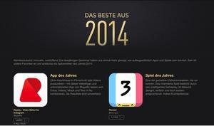 iTunes Store: Die besten Apps aus 2014