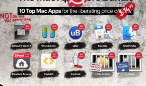 Nieder mit dem Mac App Store: The Mac Anarchy Bundle widersetzt sich Apple-Diktat - aber nur noch wenige Tage