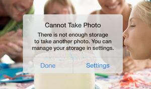 iPhone-Speicher ist für zwei Drittel der iPhone-Besitzer zu klein – ist iCloud Drive die Lösung?